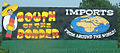 South of the Border sign - Imports from around the world.JPG