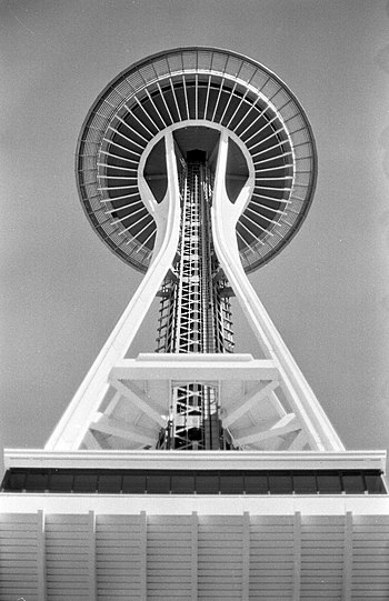 Deutsch: Space Needle, Seattle, May 1997
