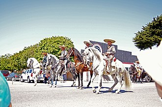 Castroville Artichoke Festival - Parade Cowboys and Horses