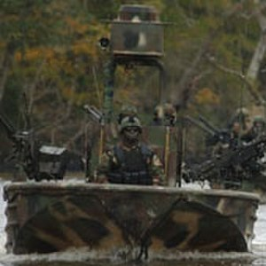 Special warfare combatant-craft crewmen - SWCC in the special operations craft, riverine