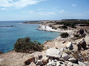 San pietro insel wikipedia strand an der sdkste san pietros sciox Gallery