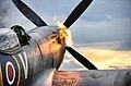 Spitfire Fighter Aircraft 'Hot Starting' Engines MOD 45156196.jpg