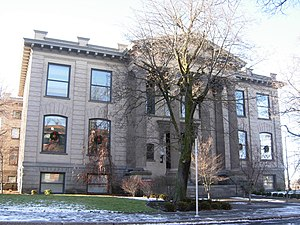 The Spokane Public Library at 10 S. Cedar in S...