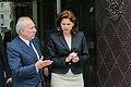 Srečanje premierke Alenke Bratušek z guvernerjem Avstrijske centralne banke Ewaldom Nowotnym 2013.jpg