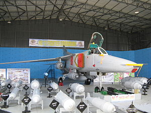 No. 12 Squadron SLAF - Sri Lanka Air Force Mikoyan-Gurevich MiG-27M at the Army 60th Anniversary Exhibition.
