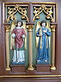 St.Peter am Wimberg Kirche - Herz-Jesu Altar 2 Engel.jpg