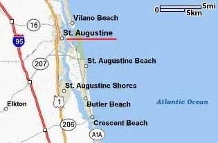 St. Augustine Major Roadways