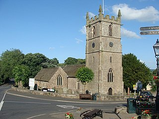 St Cadocs Church, Raglan Church in Monmouthshire, Wales
