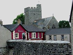 Tregaron - St Caron's church