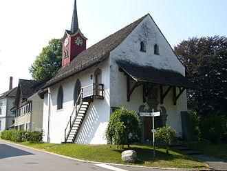 Münchwilen, Thurgau - Image: St Margareten Kapelle