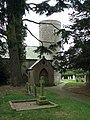 St Andrew's church - path to churchyard - geograph.org.uk - 1284613.jpg