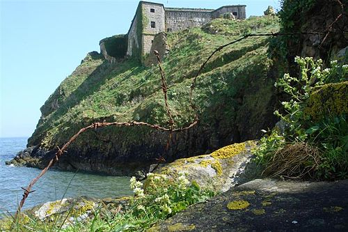 St Catherine's Fort Tenby From Lower Steps