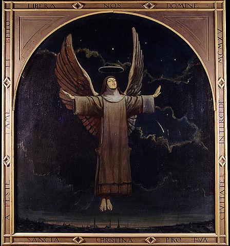 24 juillet Sainte Christine l'Admirable  448px-St_Christina_the_Astonishing_church_photo