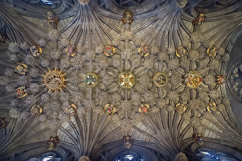 Ceiling of the Thistle Chapel