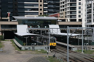 St Leonards railway station railway station in Sydney, New South Wales, Australia