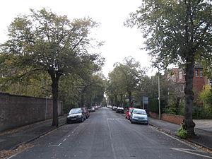 St Margaret's Road - Image: St Margaret's Road, Oxford