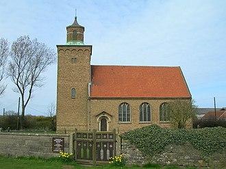 Hilston - Image: St Margarets Church Hilston