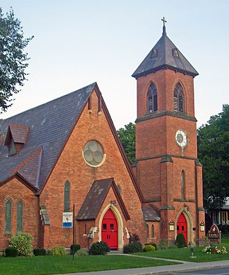 Henry C. Dudley - Image: St Mark's Episcopal Church, Hoosick Falls, NY