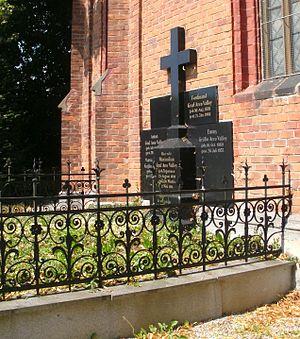 Anton Graf von Arco auf Valley - Arco family grave at  Sankt Martin im Innkreis, where Anton Graf von Arco-Valley is buried