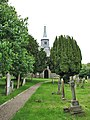 St Mary's church - churchyard - geograph.org.uk - 850773.jpg
