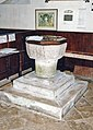 St Mary, Calbourne - Font - geograph.org.uk - 1173722.jpg