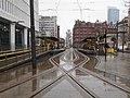 St Peter's Square tram stop, Feb 18.jpg
