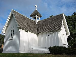 St Stephen's Chapel, Auckland - Image: St Stephen's Church, Judge's Bay, Auckland 2437881299