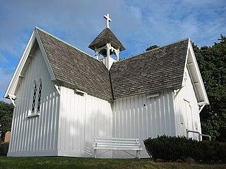 St Stephen's Chapel, Auckland - Image: St Stephen's Church, Judge's Bay, Auckland 2437881299