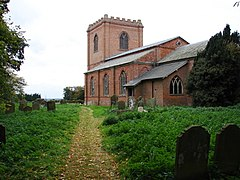 St Swithin's, Baumber - geograph.org.uk - 1012807.jpg