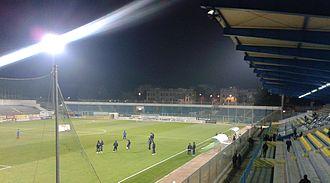 Stadio Degli Ulivi - Image: Stadio Degli Ulivi Andria Tribuna Curva Sud
