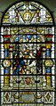 Stained glass window, St Mary's church, Glynde (15751283712).jpg