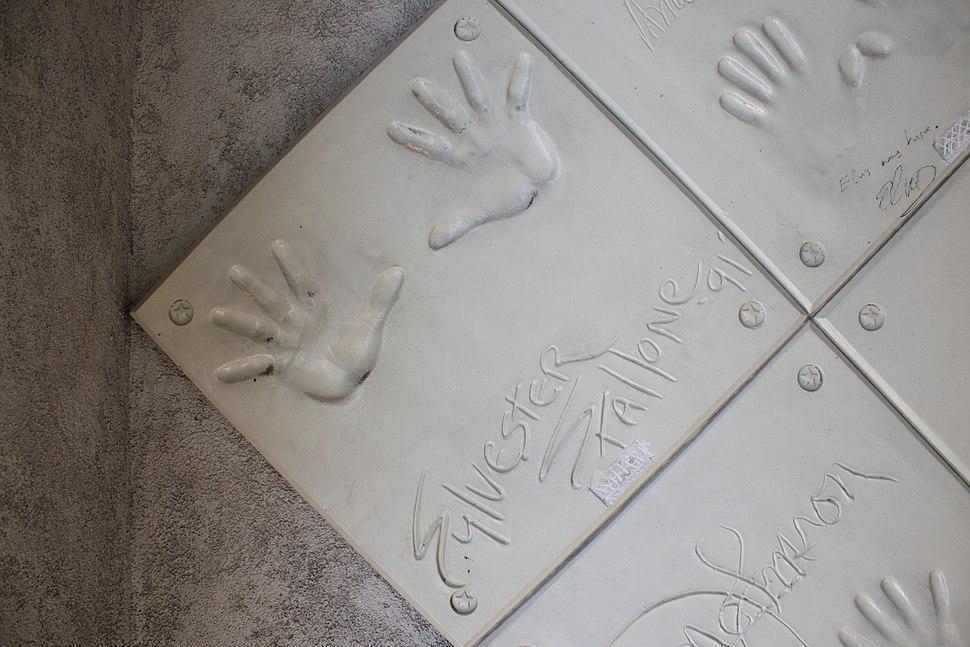 Stallone-Handprints