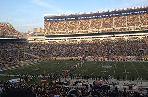 2014 Pittsburgh Steelers season - The Steelers play the Kansas City Chiefs, December 21.