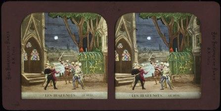 Stereokort, Les Huguenots 7, Le duel - SMV - S55b.tif