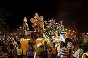 Carnival of Santiago de Cuba - Comparsa in Santiago