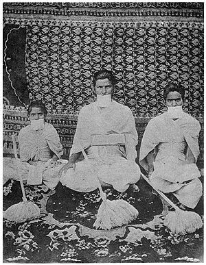 Sthānakavāsī - Monks belonging to Sthanakvasi sect of Jainism.