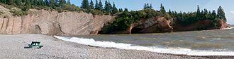 St. Martins, New Brunswick - Image: Stmartinscaves