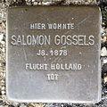 Stolperstein Bad Bentheim Am Berghang 5 Salomon Gossels.JPG