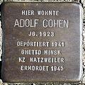 Stolperstein Delmenhorst - Adolf Cohen (1923).JPG