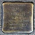 Stolperstein Eulerstr 25 (Gesbr) Gittel Manasse.jpg