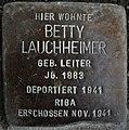 Stolperstein Göppingen-Jebenhausen, Betty Lauchheimer.jpg