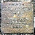 Stolperstein Hektorstr 20 (Halsee) Selma Oppenheim.jpg