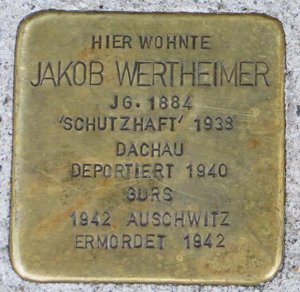 Stolperstein Jakob Wertheimer Kehl.jpg