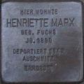 Stolperstein Karlsruhe Marx Henriette.jpeg