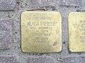 Stolperstein Klara Treiser, 1, Mönchebergstraße 26, Wesertor, Kassel.jpg