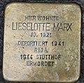 Stolperstein Liselotte Marx, Gescher Hauptstraße 35.jpg