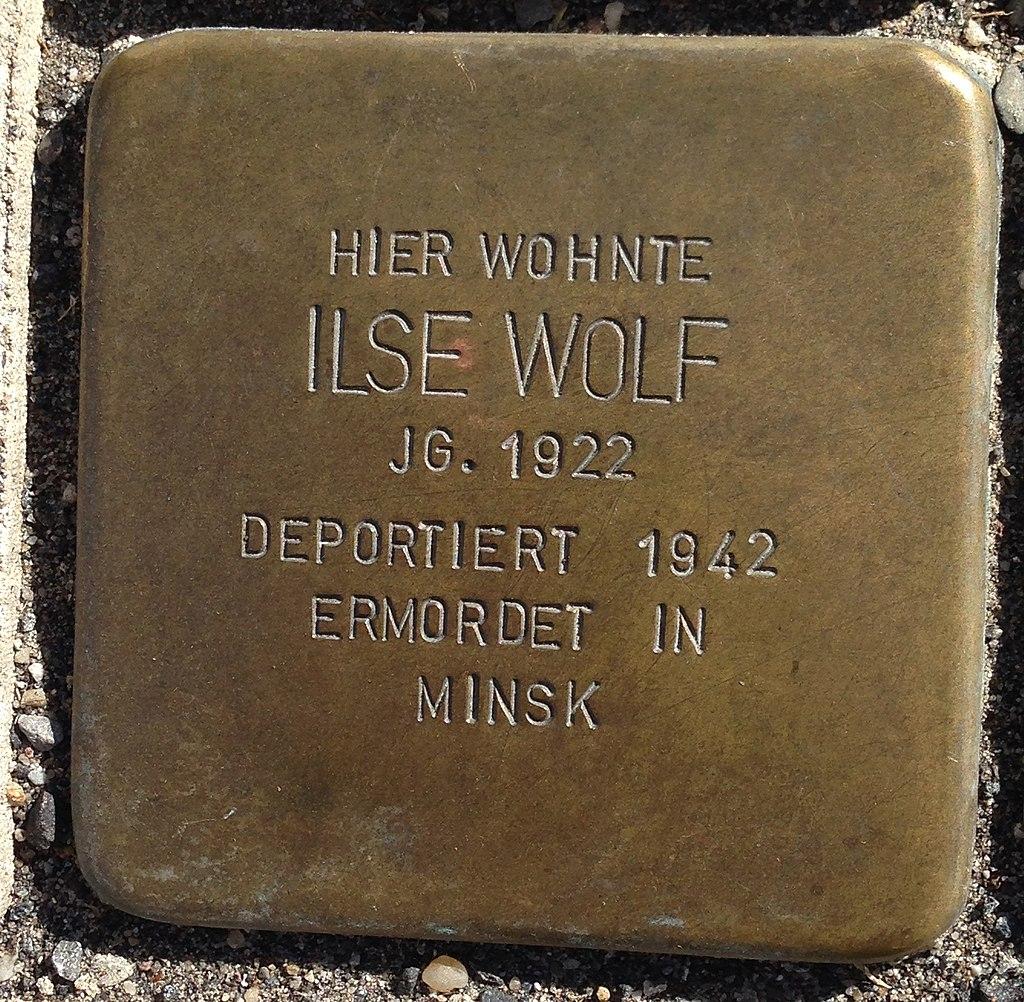 Stolperstein Puderbach Mittelstraße 27 Ilse Wolf