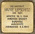 Stolperstein für Marie Lipschitz (Libourne).jpg