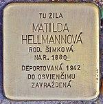 Stolperstein für Matilda Hellmannova (Prievidza).jpg