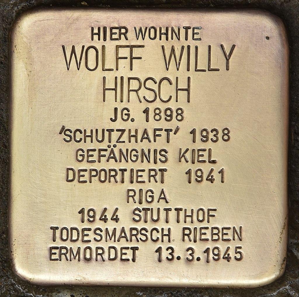 Stolperstein für Wolff Willy Hirsch (Kiel).jpg